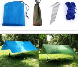 Wholesale Floor Shade - Outdoor multi - functional sky rainproof sunscreen arbor shade tents moisture - proof floor mats to cloth