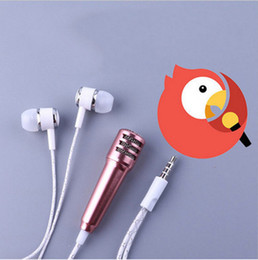 Wholesale Cheapest Iphone Box - Cheapest Price!! Mini Wired coloful Sport Running with Microphone Earphone In-ear Stereo sing Headphones music Retail Box Headset for iphone
