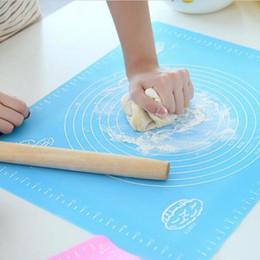 Coussin de table étanche en Ligne-Silicone Table Mats Grand Anti-dérapant Résistant à la Chaleur Mat Double Épais Tapis de Cuisson Étanche Nouilles de Pâtage Dinning Pad