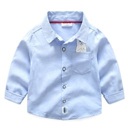 Wholesale Children S Denim Clothing - Spring and Autumn Korean version of the children 's clothing children' s children printed cartoon cotton denim shirt