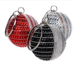 Wholesale Fashion Accessories Suppliers - 2016 Women Lady Fashion Silver Crystal Evening Clutch Bag Purse Handbag Shoulder bag Wedding Bridal Accessories Supplier