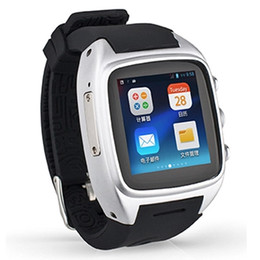 Wholesale Dual Sim 512 Rom - Wholesale- Smart Watch X01 Bluetooth3.0 Android GPS Dual Core 512 MB 4GB ROM wifi SIM WCDMA Waterproof Pedometer support SIM card camera