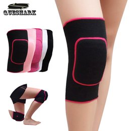 Wholesale Dancing Children - 2Pcs Women Kids Knee Support Baby Crawling Safety Dance Volleyball Tennis Knee Pads Sport Gym Kneepads Children Knee Protection