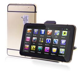 Wholesale Wholesale Dog Gps - HD 7 inch Car GPS Navigation WindowsCE 6.0 Truck GPS 800MHz Video FM E-DOG Free 8GB 3D TTS Voice Maps