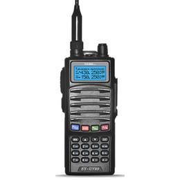 Wholesale Icom Dual Band Radio - ALWAYS KEEP POWER dual band walky talkie radios uhf vhf transceiver SY-99 handheld two way radio ham radio Motorola icom hyt quality