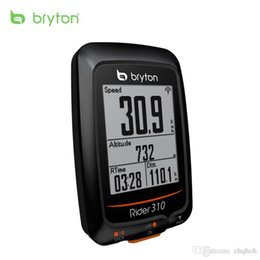 Wholesale Gps Garmin - Bryton Rider 310 Enabled Waterproof GPS cycling bike mount wireless speedometer with bicycle garmin edge 200 500510 800810 mount
