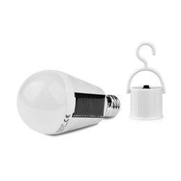 Wholesale Hanging Solar Camping Lights - Camping Rotatable Powered Panel,camp portable power Solar led light Tent Bulb garden hanging outdoor lamp 7W waterproof IP65 E27 85-265V