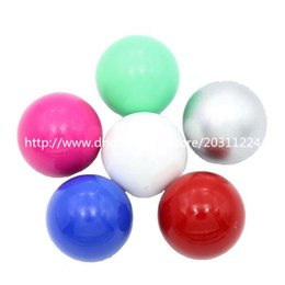 Wholesale Musical Lockets Wholesale - Mixed Color 6pcs lot 16mm Round Chime Ball, Harmony Ball, Mexican Musical Bola Ball, Angel Caller Balls for Pregnancy Mom