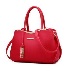 Wholesale Leather Messenger Bag Discount - 2017 Summer New Pattern Woman Package European Fashion Classic Major Suit Bale Ma'am Single Shoulder Concise Messenger Hand discount handbag