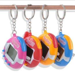 Wholesale Plastic Toy Birds - DHL free shipping Puzzle Tamagochi Pet Virtual Digital Game Machine Nostalgic Cyber Electronic E-Pet Handheld Toy Gift For Children