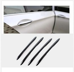 Wholesale bmw door handle - Black Side Door Handle Cover Stripe Trim for BMW 5 series F10 F18 F11 2011-2017