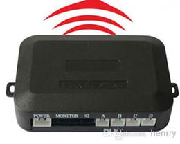 2019 câmera vermelha mais barata Venda PZ303-W Sensor de Estacionamento Sensor de Câmera Do Carro Sem Fio Digital Led Sensor de Estacionamento Host Sem Fio E Display é Link Sem Fio