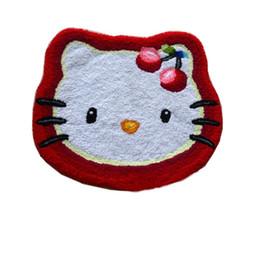 Bonjour Kitty main accroché tapis tapis de porte vivant, tapis de cuisine tapis tapis de cuisine tapis de Noël cadeau de Noël anti-dérapant brodé porche ? partir de fabricateur
