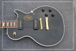 Wholesale China Guitars Neck - Black Custom Shop Electric Guitar Aged Neck ONE Piece High Quality Wholesale From China HOT