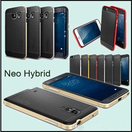 Wholesale Dhl Bumblebee - 2 in 1 NEO Hybrid SGP Case for iphone 6 6s 7 plus Rugged Bumblebee Armor Bumper Case Cover for Samsung S7 S6 Edge Plus Note 7 5 DHL
