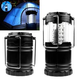 Super Lumineux Lanterne Portable Extérieur Pour Camping 30 LED Lumière De Camping Pour La Pêche Pliable Tente Lampe de Pêche ? partir de fabricateur