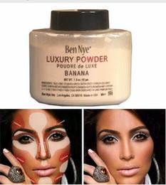 Wholesale Cosmetic Powder Bottle - Ben Nye Banana Powder 1.5 oz Bottle Luxury Powder Poudre de Luxe Banana Loose Powder 42g Beauty Makeup cosmetic
