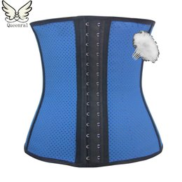 Wholesale Latex Body Suits Women - Wholesale- latex waist trainer Body Shaper Slimming underwear bodysuit Women Corset hot Shaper Slimming Belt Shapewear Slimming Suits