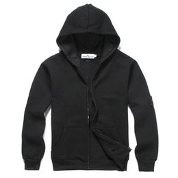 Wholesale Sports Hoodies For Cheap - 7 Colors Long Sleeve Stone Land Hoodies Jackets With Hat Cheap Good Winter Wear Jackets For Women Outdoor Sports jackets Size S-3XL