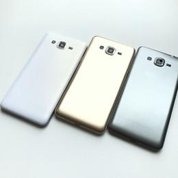 Canada NOUVEAU Full Case Retour Cover Case batterie pour Samsung Galaxy Grand G530 Or / Noir / Blanc Offre