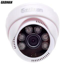 Wholesale Sharp Vision Camera - Gadinan CMOS 800TVL 1000TVL 2.8mm Lens Security IR 6 Array LEDs CCTV Indoor Cam Night Vision Surveillance HD Dome Camera