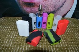 Wholesale Sleeve Boxes - Eleaf Istick Pico 75w Silicone Case Colorful istick power Protective Cover Skin Rubber Sleeve Protective case for istick pico mega box mod