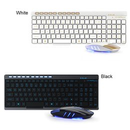 Wholesale Mouse Dpi - E-3LUE EKM825 Wireless 2.4G Keyboard and Mouse Combo Splash-proof Design Chocolate Key Caps Adjustable DPI Gaming Keyboard Mouse