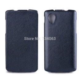 Wholesale Nexus White Case - For LG Google Nexus5 Case Leather Vertical Flip Up and Down Case Cover For LG Google Nexus 5 E980 Mobile Phone Bag