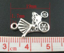 Wholesale Antique Torch - 50 PCs Antique Silver Baby Carriage&Buggy Charms Pendants 19x12mm Mr.Jewelry jewelry torch jewelry making supplies charms