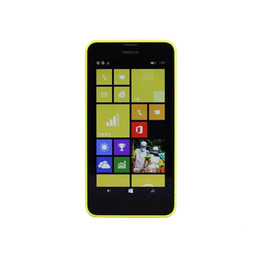 "Wholesale Snapdragon Quad - Original 4.5"" Nokia Lumia 630 Cell Phones Windows Phone 8.1 Snapdragon 400 Quad Core 1.2GHz IPS 512MB 8GB 3G WCDMA GPS WIFI unlocked phone"