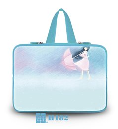 """Wholesale 17 Laptop Case Handles - New fashion 17"""" laptop sleeve laptop bag with handle colorful printing cover case for macbook"""