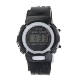 Canada 2015 Livraison gratuite! Cadeaux Enfants Student Time Clock électronique Montre numérique LCD Adolescent montre-bracelet pour vos Filles Garçons Offre