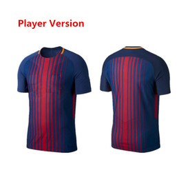 Wholesale Messi Football Player - JS-115-2017 2018 Soccer Jersey Player Version Camisas Neymar SUAREZ Dembele Messi INIESTA PIQUE O.DEMBELE 17 18 Football Shirt