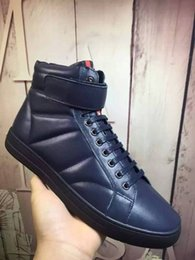 Wholesale Men Leather Pa - [PA] 2016 New Collection Luxury Designer Mens Comfortable Quality Casual Shoes Free Shipping Today Discount Online