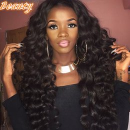 Wholesale Vietnamese Silk - Silk Top Wig Glueless Full Lace Human Hair Wigs With Baby Hair Lace Front Wig Loose Wave Brazilian Virgin Hair Full Lace Wig