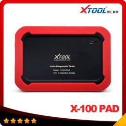 Wholesale Usb Eeprom Programmer - 2016 New arrival XTOOL X-100 PAD Tablet Key Programmer with EEPROM Adapter X100 PRO X-100 X 100 PRO Auto Key Programmer