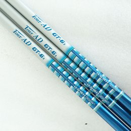 Wholesale Tours Ad Shaft - New mens TOUR AD GT-6 Golf Wood shaft high quality Graphite Golf shafts R or S flex Golf driver shaft Free shipping