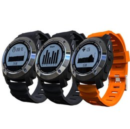 Wholesale Gps Tracker Watch Times - S928 Real-time Heart Rate Tracker GPS Smart Watch Air Pressure Environment Temperature Height Outdoor Sports Watch For Android Phone iPhone
