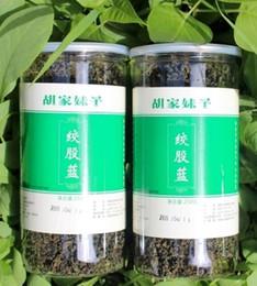 2019 chá chinês barato Autêntico! 500g Gynostemma Pentaphyllum Chá Natural Jiaogulan Natural Gynostemma Sete Folhas de Chá de Ervas HT-011 atacado