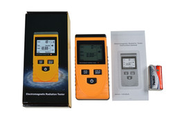 Wholesale Electromagnetic Equipment - Digital LCD Electromagnetic Radiation Detector GM3120 Dosimeter Tester Household Appliances Office Equipment Radiation Meter Free Shipping