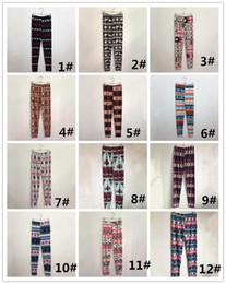 Wholesale Plus Size Winter Print Leggings - 2017 Hot Womens Autumn Winter Warm Leggings Fashion Christmas Printed High Elastic Skinny Leggings Slim Pencil Pants Plus Size DHL 170923