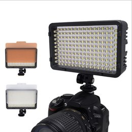 Canada Éclairage Photographie Mcoplus 130 LED Video Light pour Canon Nikon Sony Panasonic Olympus Pentax caméra DV Comcorder VS CN-126 led camera light 126 on sale Offre