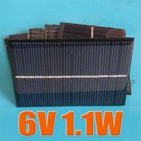 Wholesale Solar Spot Lights For Garden - 6V 1.1W 180mA Mini monocrystalline polycrystalline solar Panel charge for LED Solar garden lamp Wall light spot lighting