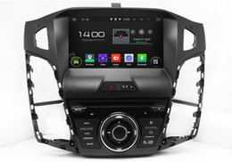 Wholesale Android Dvd Gps Ford - Android 5.1 Car DVD Player for Ford Focus 2012 2013 2014 with GPS Navigation Radio BT USB AUX Video Stereo WIFI 1024*600