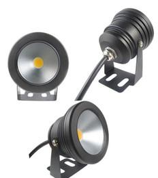 Wholesale Black Pool Lights - 10pcs Outdoor black color Case 10W Underwater LED Flood Wash Pool Waterproof Light Spot Lamp 12V Whoelsale