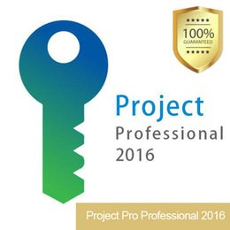 Wholesale Pc Key Codes - Project Pro Professional 2016 PC activation Key Full Software Product Code Download 32 64 Bits Global