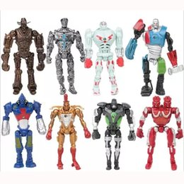 Wholesale New Products Toys - 2017 New Product Real Steel PVC Action Figure Collection Model Toys Classic Toys Dolls Christmas OTH592
