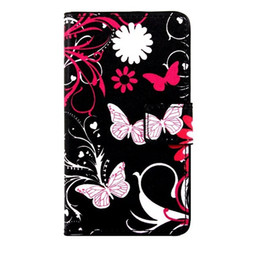 Wholesale Uk Wallet - Cartoon Wallet PU Leather Case Flower Stand Pouch ID Card Owl UK Flag Butterfly For Samsung Galaxy S8 PLUS C7 J3 Pro One Plus OnePlus 3 Skin
