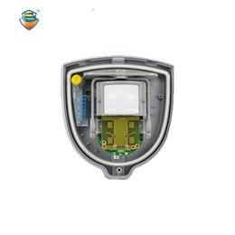 Wholesale Microwave Sensors - Wholesale- (1 PCS)Wired Alarm Outdoor MicroWave PIR Double Sensor with Pet Immunity Waterproof self defense anti burglar GSM alarm system