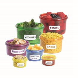 Wholesale Healthy Weights - Food Storage Containers Healthy Living Portion Control Containers Kit (7 Piece) - Easy Way to Lose Weight